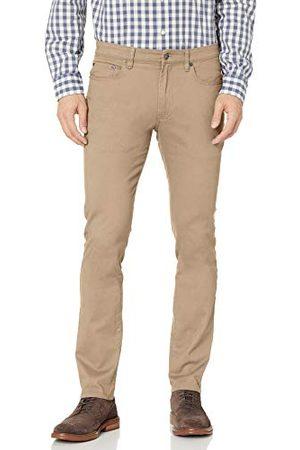 Amazon Heren Skinny-fit 5-Pocket Stretch Twill Pant,kaki,32W / 33L