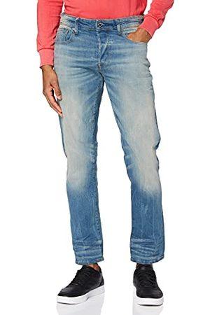 G-Star Mannen 3301-Rechte Rechte Rechte Taps Toelopende Jeans