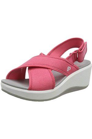Clarks Dames stap Cali Cove Sling terug sandalen