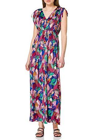 Morgan Lange jurk van mesh bedrukt Rbarba casual jurk