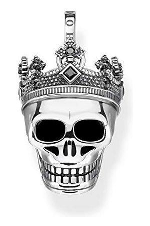 Thomas Sabo Unisex hanger doodskop kroon 925 sterling zilver PE871-643-11