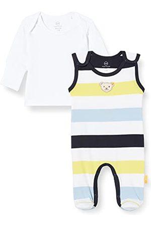 Steiff Baby-jongensset rompers + T-shirt korte mouwen