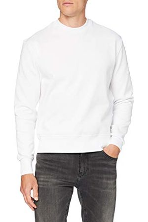 Build Your Brand Heren premium oversize crewneck pullover sweater