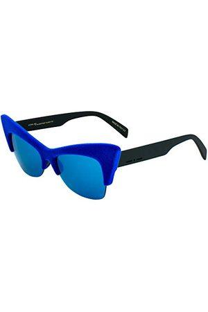 Italia Independent 0908V-022-000 dames-zonnebril, blauw, 59