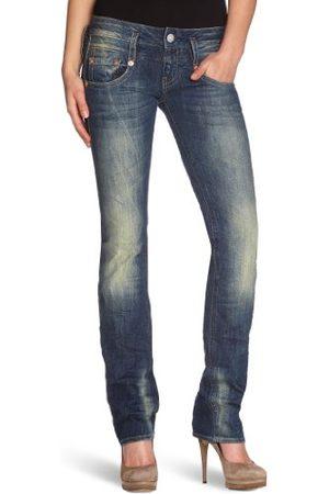 Herrlicher Dames Straight Been Jeans Pitch Denim Stretch