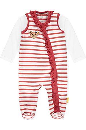 Steiff Baby-meisjes-set strampers + T-shirt lange mouwen