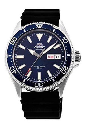 Orient Heren analoog automatisch horloge met rubberen armband RA-AA006L19B