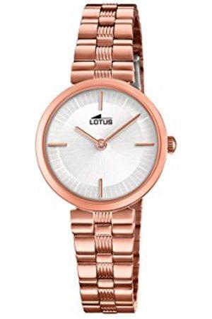 Lotus Lotus Horloges Womens Analoog Klassieke Quartz Horloge met RVS Band 18544/1