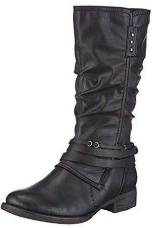 Jana 8-8-26610-33, Warme gevoerde rijlaarzen lange schacht laarzen & laarzen voor dames 23.5 EU