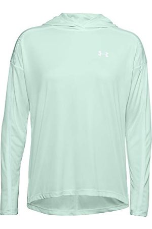 Under Armour Tech Twist Graphic shirt met lange mouwen, Dames , Seaglass /Seaglass / (403), Large