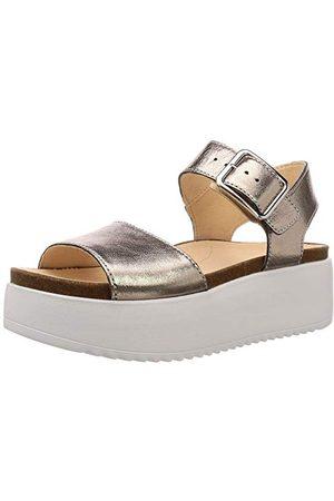 Clarks Vrouwen botanische riem Sling terug sandalen