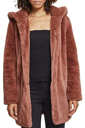 Urban classics Dames Hooded Teddy Coat