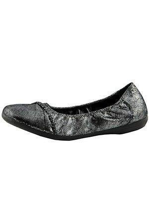 Marc Shoes Janine gesloten ballerina's, (Goat Suede silver 00833), 40 EU