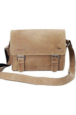 ARRIGO BELLO Unisex-Volwassenen Messenger Bag Boodschappentas, (Taupe), 31x20x14 cm