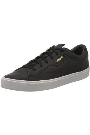 adidas Dames Sleek W gymschoen, Core Black/Core Black/Crystal White, 44 EU