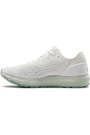 Under Armour Women's Hovr Sonic 3 Road Running Shoe, White Sea Glass Blue Enamel 103, UK