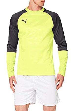 PUMA Heren CUP Training Sweat Core Trainingsshirt, Fizzy Yellow-asfalt, XXL