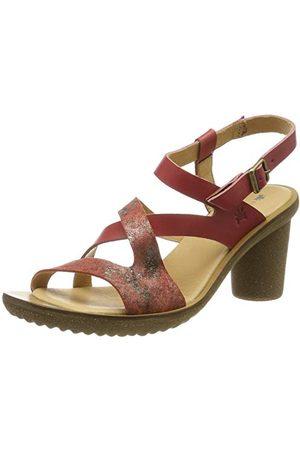 El Naturalista N5157 Vaquetilla-Fantasy Geranio/Trivia High Heels voor dames
