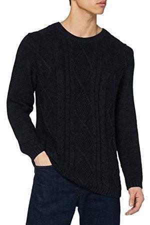 Herrlicher Prachtige heren Ralle Braided Wool Pullover