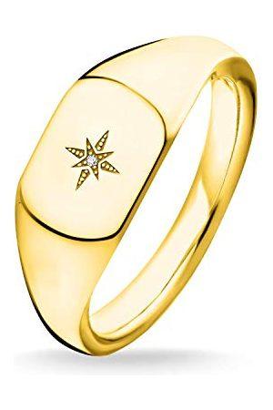 Thomas Sabo Zegelringen voor dames, 925 sterling zilver, zirkonia '- ringmaat 54 D_TR0038-924-14-54