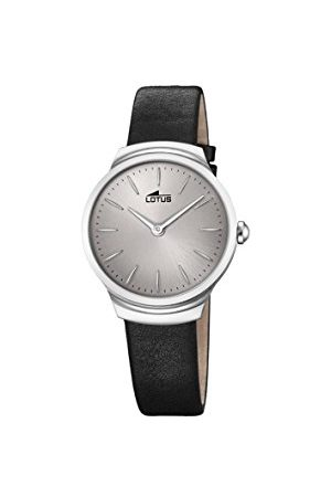 Lotus Lotus Horloges Womens Analoog Klassieke Quartz Horloge met Lederen Band 18500/2