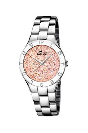 Lotus Womens analoge klassieke quartz horloge met roestvrij stalen band 18568/3