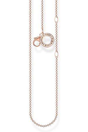 Thomas Sabo Charm halsketting rosé , 925 sterling zilver, 36-38 cm lengte