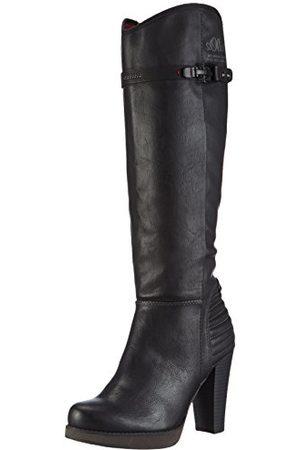 s.Oliver 5-5-25505-25, ongevoerde klassieke hoge laarzen dames 40 EU