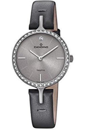 Candino Womens Analoog Klassiek Quartz Horloge met Lederen Band C4652/1
