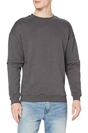 Urban classics Sweatshirt voor heren, met rits, oversized, Terry Crew trui, sweater