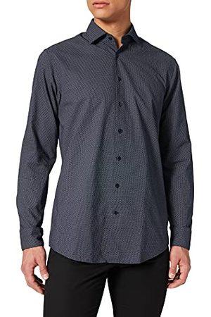 Seidensticker Zijdesticker heren Regular Fit lange mouwen Oxford hemd