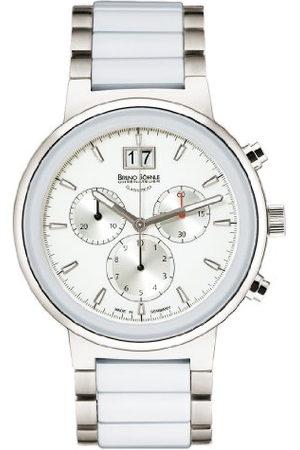 Soehnle Bruno Söhnle dames chronograaf kwarts horloge met keramische armband 17-93133-942