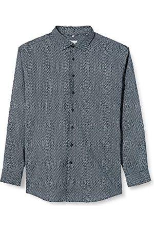 Seidensticker Zijdesticker heren regular fit lange mouwen linnen hemd
