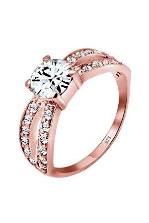 Elli Ringen 925 zilver Glamoureuze Kristal