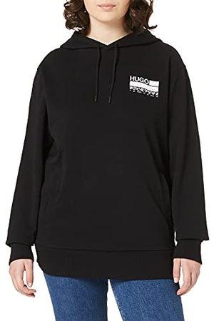 HUGO BOSS Dasweater sweatshirt met capuchon voor dames