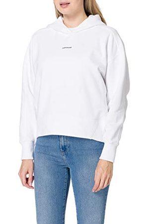 Calvin Klein Dames Micro Branding Hoodie Sweater