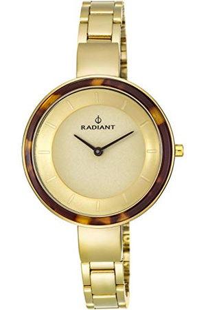 Radiant Dameshorloge analoog kwarts met roestvrij stalen armband RA460202