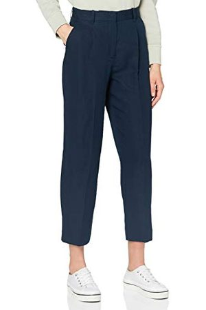 Tommy Hilfiger Dames Linnen Tencel Tapered Pant Straight Jeans