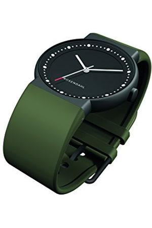 Rosendahl Heren analoog kwarts smart watch polshorloge met PU armband 43253