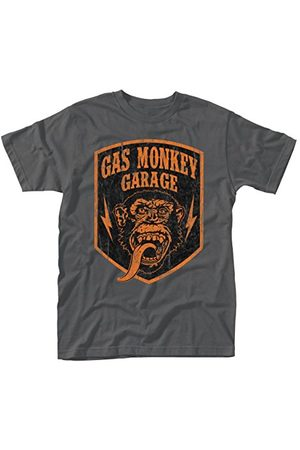 Plastic Head Heren Gas Monkey Garage Shield T-Shirt - - M
