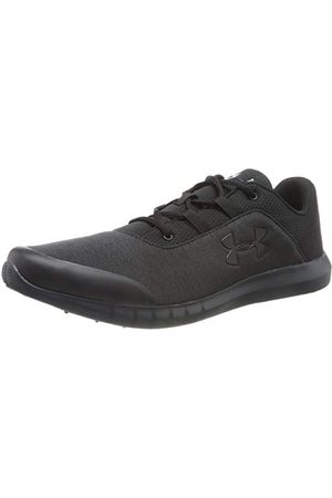 Under Armour Men's Mojo Fast-Drying Running and Gym Shoes, Black Anthracite Anthracite, 6 UK