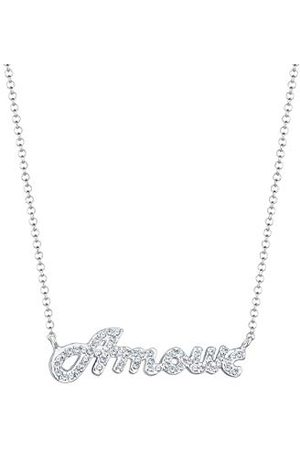 Elli Damen 925 Rundschliff kristal