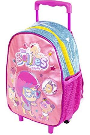 Bellies and Beyond 700015957 kinderrugzak met trolley en wielen, voor kinderen vanaf 3 jaar, roze