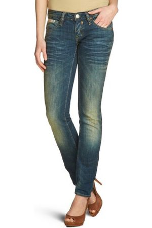 Herrlicher Dames Jeans 5630 D9900 Touch Denim Stretch Skinny/Slim Fit (buis) Normale tailleband (meerdere kleuren)