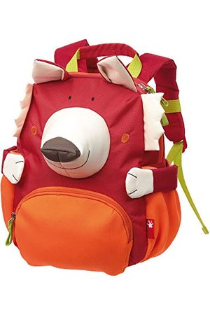 sigikid Jongens en meisjes, mini-rugzak, motief vos, rood, 24919