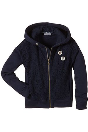 Tommy Hilfiger LACE HD ZIP HWK L/S Sweater met capuchon voor meisjes