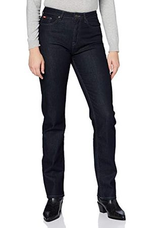 Lee Cooper Dames Holly Straight Fit jeans, rinse, standaard