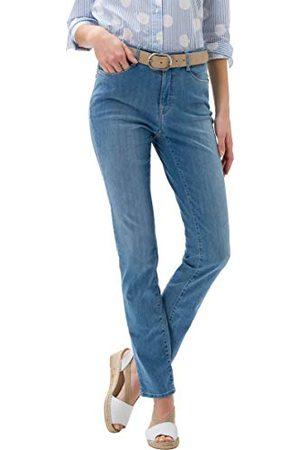 Brax BRAX Dames Style Carola Simply Brilliant Straight Jeans,Used Light Blue,27W x 32L