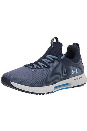 Under Armour Men's Hovr Rise 2 Cross Trainer, Mineral Blue Academy Halo Gray 402, 6 UK
