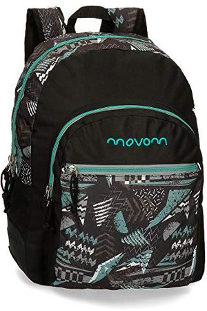 MOVOM Arrow Adaptable dubbelcompartiment rugzak Multi colored 33x44x13,5 cms Polyester 19.6L
